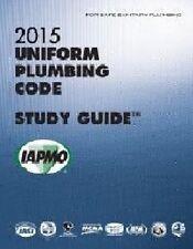 2015 Uniform Plumbing Code Study Guide w/Tabs