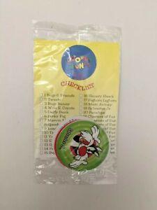 Looney Tunes Caps Game 1994 KFC - Pogs- Milk Caps NIP