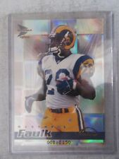 1999 Pacific Prism Marshall Faulk #8of150