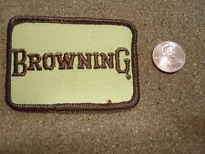 Vintage Browning Patch New Old Stock