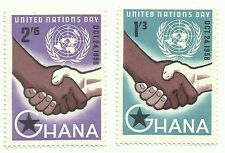 Ghana postage stamps, United Nations Day 1958. Unmounted mint
