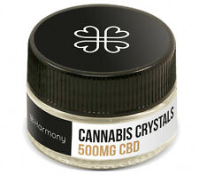 CBD (Cannabidiol) Kristalle 500mg, 99,55% (Rich CBD & High Quality) 100%