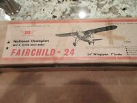 2 PKS PERFECT MODEL AIRPLANE PARTS #230 WING LEAD OUTS NEW OLD STOCK