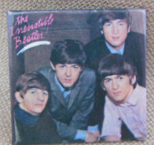 """""""The Irresistible Beatles"""" Square Pin Button Backpack Pin MEMS Ltd"""