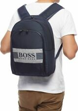 New With Tag - Hugo Boss  Pixel J Backpack Navy Colour