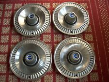 """1964 Ford Galaxie    Set of Four 14"""" OEM Hubcaps"""