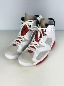 NIKE 6 R 28cm Ct8529-062 Size 10 White High cut Fashion Sneaker 8209 From Japan