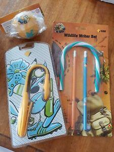 Dollarmite Hand Ball Tin Moneybox Book Light Pencil  Collector Commonwealth Bank