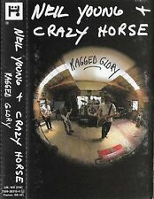 Neil Young + Crazy Horse ‎Ragged Glory CASSETTE ALBUM Alternative Rock, Country