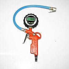 LCD Digital neumático inflación inflable bomba Pistola con manómetro
