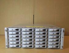 Sun J4400 Storage Array - Capacity: 24TB (24 x 1TB SATA) 2 x Controllers 2 x PSU