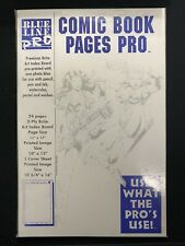 Blue Line Pro Comic Book Pages Pro New Sealed