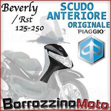 SCUDO SCOCCA ANTERIORE NERO GRAFITE ORIGINALE PIAGGIO BEVERLY SPORT 250 2007