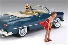 1950'S FIGURE DEBORAH FOR 1:18 SCALE DIECAST MODEL CARS AMERICAN DIORAMA 77726