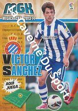 N°137 VICTOR SANCHEZ MATA # ESPANA RCD.ESPANYOL CARD PANINI MGK LIGA 2014