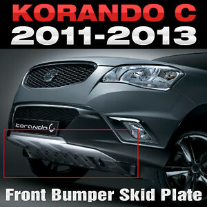 Front Bumper Skid Plate Cover 1Pcs for SSANGYONG 2011-2013 Actyon / Korando C