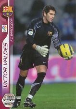 N°038 VICTOR VALDES # FC.BARCELONA CARD PANINI MEGACRACKS LIGA 2007