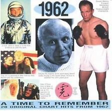 A Time to Remember: 20 Original Chart Hits from 1962 by Various Artists New CD!