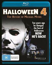 Halloween 4 - The Return Of Michael Myers (Blu-ray, 2013) OOP Region ALL A B C