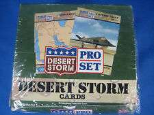 1991 FACTORY SEALED DESERT STORM PRO SET ARMY TRADING CARDS BOX WAX PACK NEW