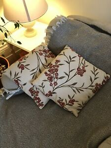 John Lewis Floral Cushion Covers x2