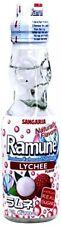 Sangaria Ramune Soda Lychee Flavor 6.76 FL OZ (Pack of 6)