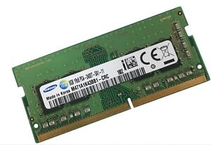 8GB Samsung DDR4 2400 Mhz PC4-2400T-S Notebook RAM SO DIMM M471A1K43BB1-CRC