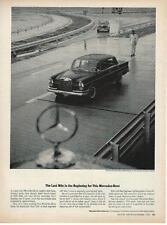 1964 Mercedes-Benz 300SE Sedan Ad/Unterturkheim Test Track