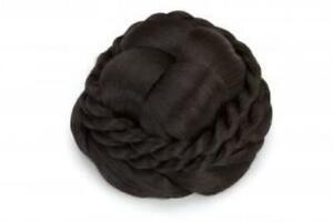 Dutt/Chignon (schwarz-braun) YS-8029-2