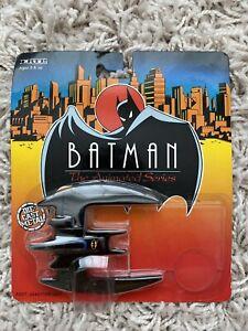Batman Animated Series Ertl Batplane Sealed On Card 1990s 90s Rare Diecast Model