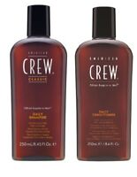 AMERICAN CREW DAILY SHAMPOO 250 ML AND DAILY CONDITIONER 250 ML DUO