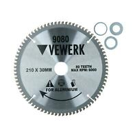 210mm x 30mm TCT Tungsten Carbide Tipped Circular Saw Blades 80 Teeth