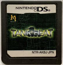 Nintendo DS TANK BEAT Japanese 3D Tank Battle Action Games NDS