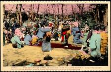 JAPAN Old Postcard - April, The Flower Month - RP