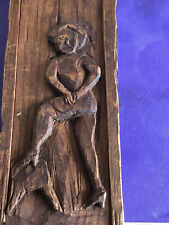 Antique American Erotic Art, Circa 1900 Tool Box