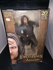 """!!!NEW!!! NECA Lord of the Rings Aragorn 20"""" Epic Action Figure"""