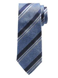 NWT Banana Republic Blue Melange Stripe Silk Tie