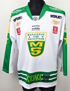 MANGLERUD STAR HOCKEY TEAM #14 Jersey Men Medium Shirt Trikot M Norway Norwegian