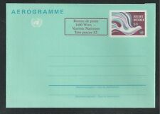 United Nations, Vienna # Uc2 Airmail Postal Stationery