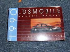 1990 OLDSMOBILE CUTLASS CALAIS FACTORY OWNERS MANUAL