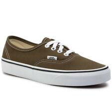 Vans Authentic Beech/True White Men's Classic Skate Shoes Size 10