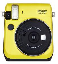 Fujifilm instax mini 70 instant camera CANARY YELLOW