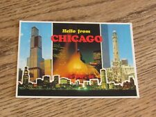 Hello from Chicago Postcard (FC1-4)