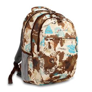 J World New York Cornelia Laptop Backpack Back to School Book Bag - JWS-49 Atlas