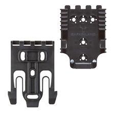 New Safariland QLS Kit 2 Quick Locking System With Lockin (Model #QUICK-KIT2-2)