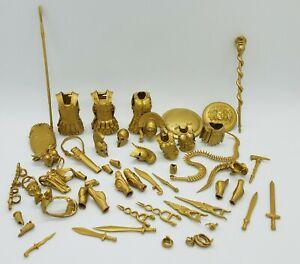 Boss Fight Studio Vitruvian HACKS - GOLD Accessories A & B Series 1