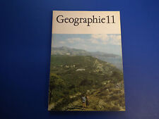 DDR Lehrbuch-Schulbuch-Geographie Klasse 11 antike Ausgabe 1981 guter Zustand