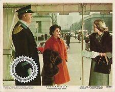 Lot of 3a, ELIZABETH TAYLOR stills BUTTERFIELD 8 (1960) mini lobby cards/stills