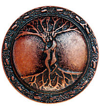10pcs CELTIC TREE CONCHO AB Ancient Rivet Viking Vintage LARP Leather Crafters