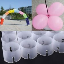50pcs Balloon Arch Connectors Clip Ring Buckle Balloon Flower For Party Wedding